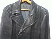 Пальто Военное кожанное